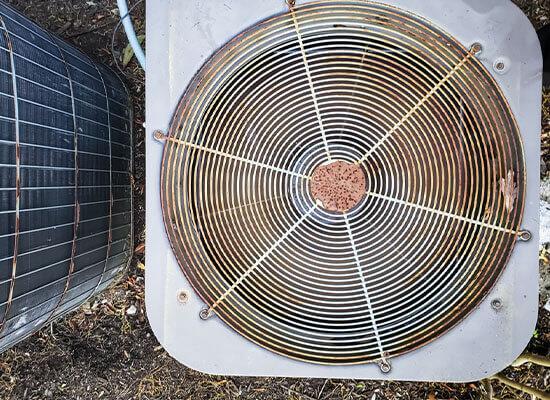 Old Cooling Unit